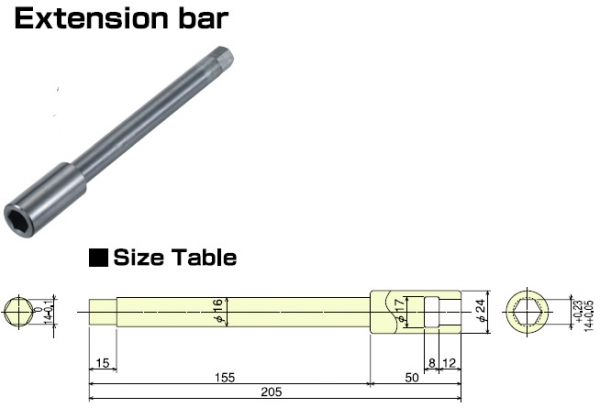 Optional Accessories-Extension Bar