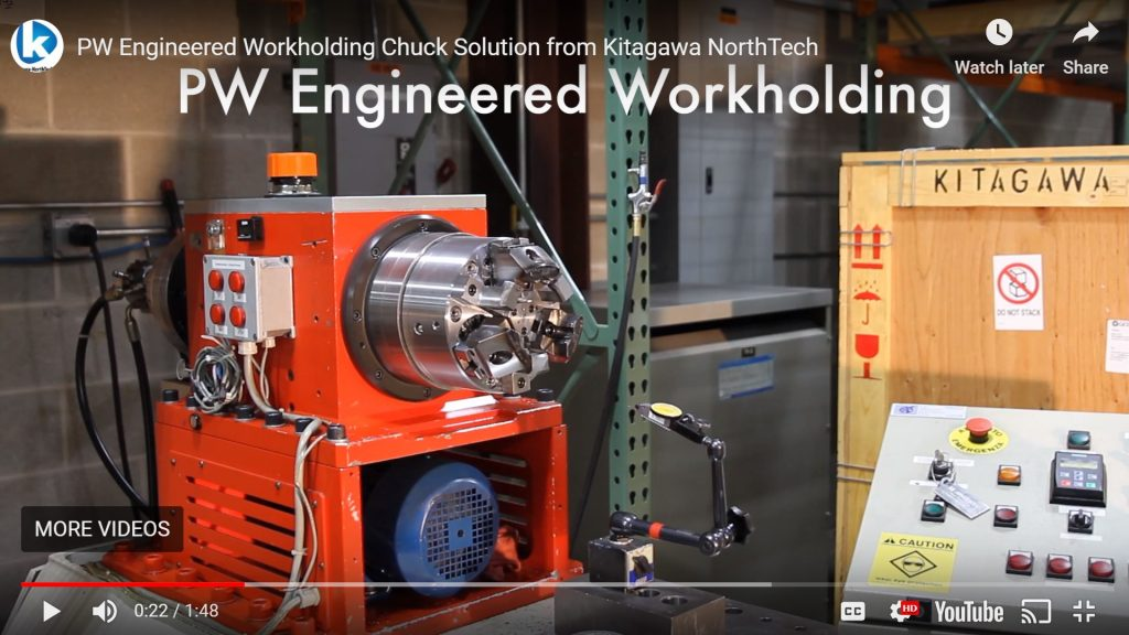 PW Engineered Workholding Solutions Video